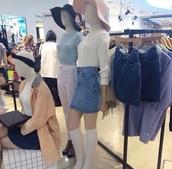 sweater,american apparel,pale,denim,hat,jumper,coat,skirt,home accessory