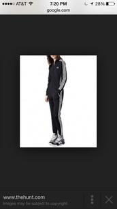 jumpsuit,adidas onesie black and white