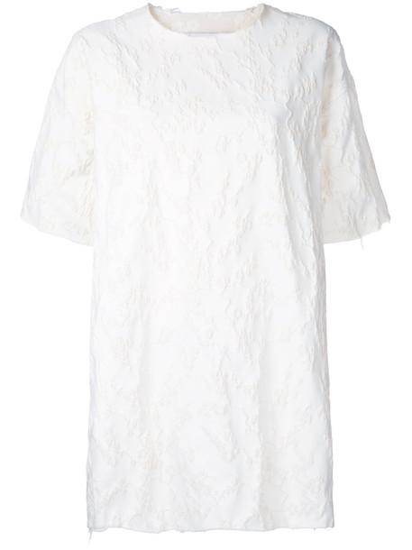 MARQUES'ALMEIDA dress mini dress mini women white cotton