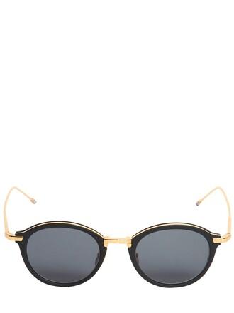 sunglasses round sunglasses black