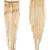 Kenneth Jay Lane Polished Fringe Earrings - Polished Gold