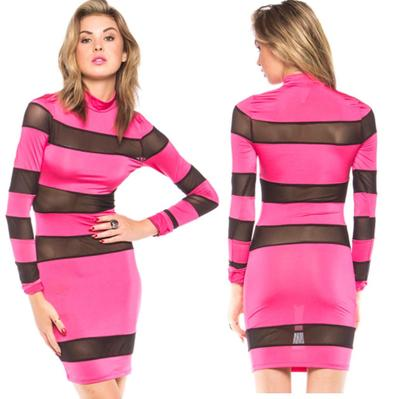 Hot mesh pink dress · trendyish · online store powered by storenvy