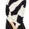 Topshop patterned funnel neck sweater   nordstrom