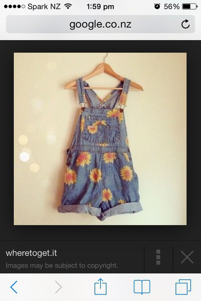 romper denim overalls oversized