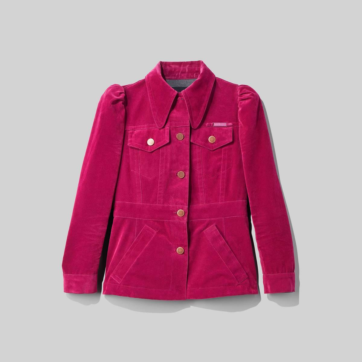 The Velveteen Jean Shirt Jacket