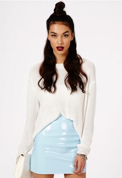 Nagsia PVC Mini Skirt - Skirts - Mini Skirts - Missguided