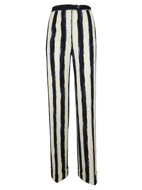 Alberta Ferretti white pants