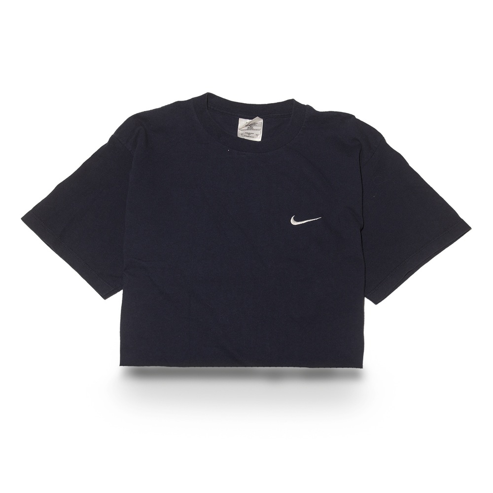 classic nike tee crop top. Black Bedroom Furniture Sets. Home Design Ideas