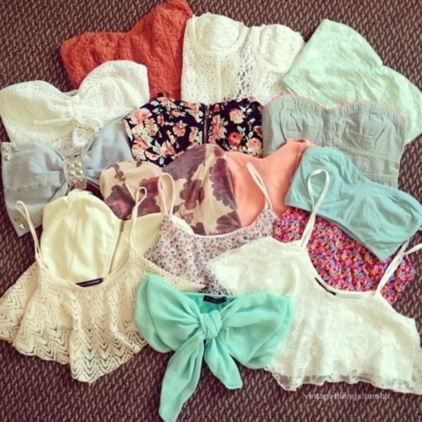 swimwear crop tops corset floral bow crochet lace bandeau bikini blouse nail polish shirt color/pattern summer High waisted shorts underwear bralette bralette bustier crop tops swimwear sea tank top cute t-shirt pretty skirt bustier bows wow funny spring colorful top haut blanc dentelle noeud bleu belly top belly t-shirt bandeau top bralette lace top floral crochet mint denim these tops girly pretty bandea hipster bandeau bra bandeu top fashion white crop orange tie up top corset bustier crop top tank top tank top short bra bralete turquoise sexy teenagers red pink flowers studs embellishment pearl pearl straps straps strappy strapless blue elastic elastic acted blue crop top floral crop top bow crop top clothes lace crop top