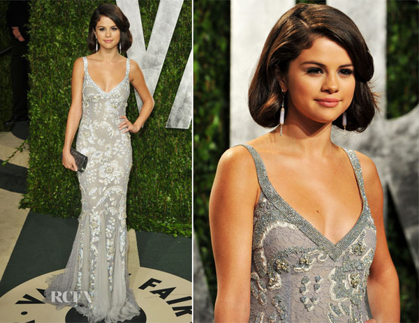 dress selena gomez prom dress