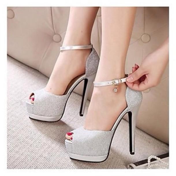 shoes gliter nice