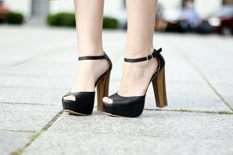 shoes beauiful high heels leather wedges