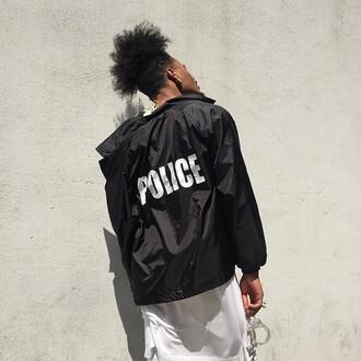 jacket sexy white black black jacket fashion police style fashion trendy black and white sweet dope menswear mens jacket white jacket