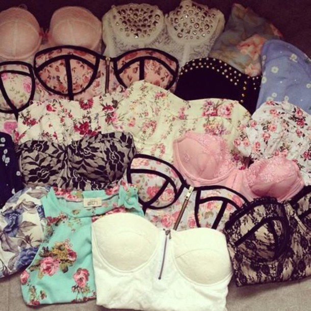 pink top white top crop tops bustier tank top party shirt sexy hot beautiful top tight crop tops t-shirt crop tops blouse sequince strapless top lace cute top summer top lace top dress