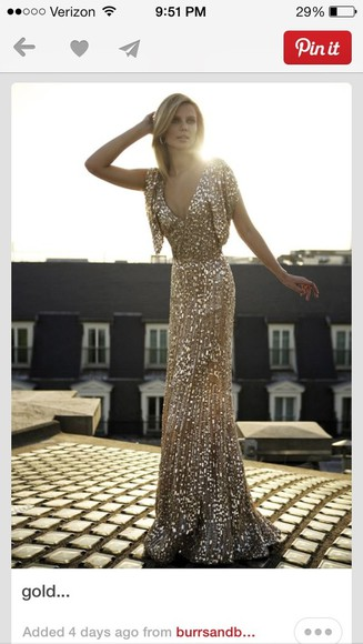 dress prom dress sequin dress gold dress gold sequin dress gold sequins great gatsby long prom dresses
