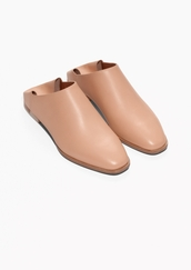 shoes,slippers,leather,blush pink