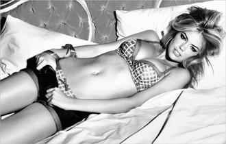 underwear kate upton sexy gorgeous bra plaid