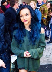 jade thirlwall,little mix,knitted sweater,hairstyles