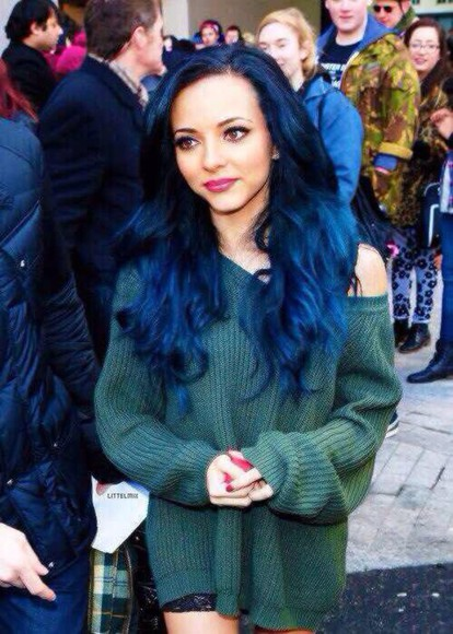 green sweater jade thirlwall little mix