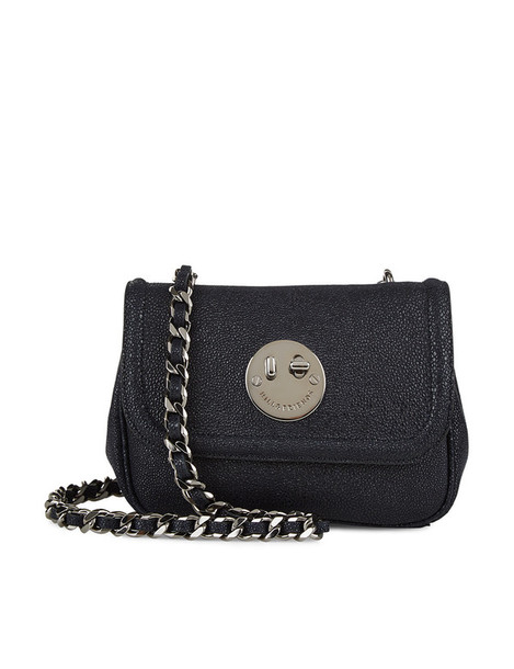 Hill & Friends bag chain bag leather navy