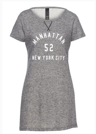 dress grey dress grey tee shirt dres factorie