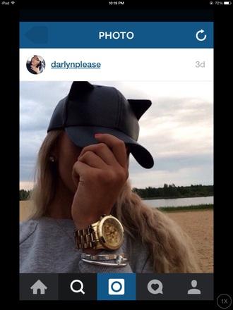 hat cap black dope fashion streetwear girly cute tumblr fashion hats tumblr girl summer ca bat black accesories