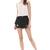 Black Pockets Ripped Denim Shorts - Sheinside.com