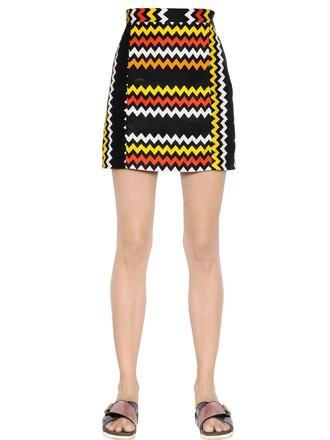 skirt mini skirt mini satin black