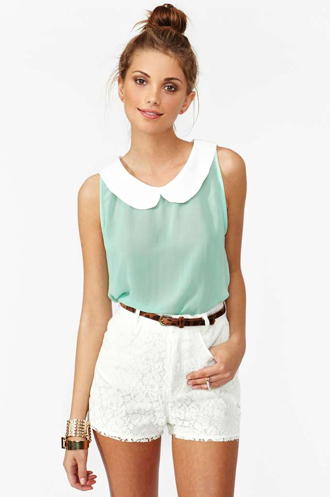 Sweet Chiffon Top | Shop Clothes at Nasty Gal