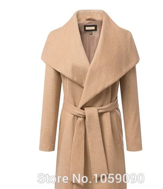 long jacket big collar with belt kahki brand longline tie khaki camel trench coat boyfriend coat coat duster coat pea coat beige jacket zara zara jacket winter coat slouchy