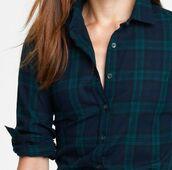 top,flannel,blue,green,plaid,tartan,long sleeves,collared shirt,collared shirts,dark blue,navy,forest green,hipster,grunge,flannel shirt,button up shirt,button up,shirt