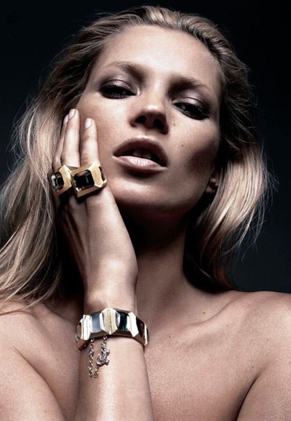 jewels gemstone celebrity style luxury 70s style kate moss
