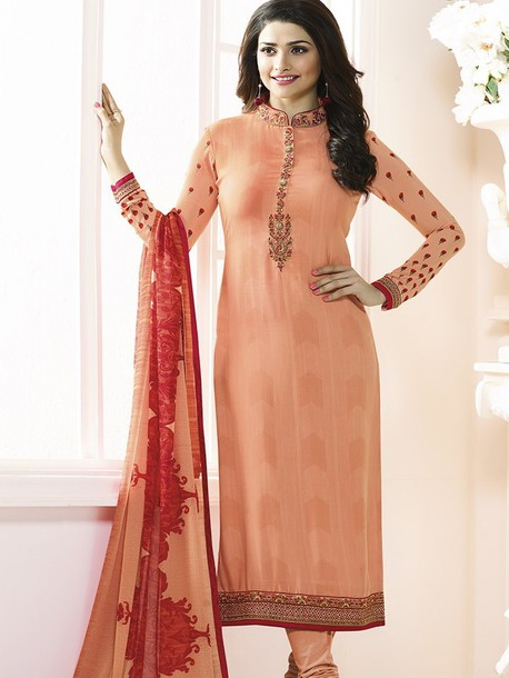 dress prachi desai ethnic wear women wear straight cut suits