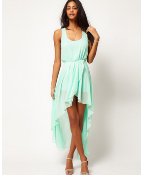 CHEAPEST!!!2014 Ladies Long Winter Chiffon Sexy Dress Warm Fashion Maxi Mint Green Summer Dress Casual Brand Dresses-in Dresses from Apparel & Accessories on Aliexpress.com