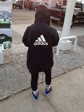 jacket,adidas,adidas jacket,black jacket,windbreaker,black,white,blvck,coat,raincoat,fashion,tumblr,retro,oldscholl