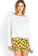 Sunflower Cuffed Denim Shorts | FOREVER21 - 2000070319
