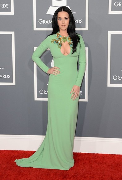 dress katy perry vert pomme
