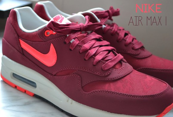 shoes nike bordeaux fashion nike air max pink