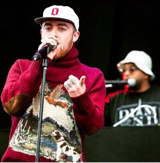 sweater mac miller hip hop