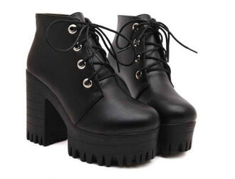 platform shoes soft grunge grunge black heels platform sneakers platform high heels punk lace up seapunk scene chunky sole