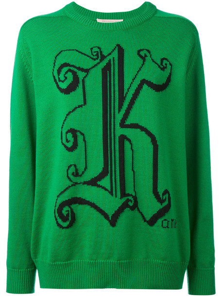 CHRISTOPHER KANE sweater women wool green