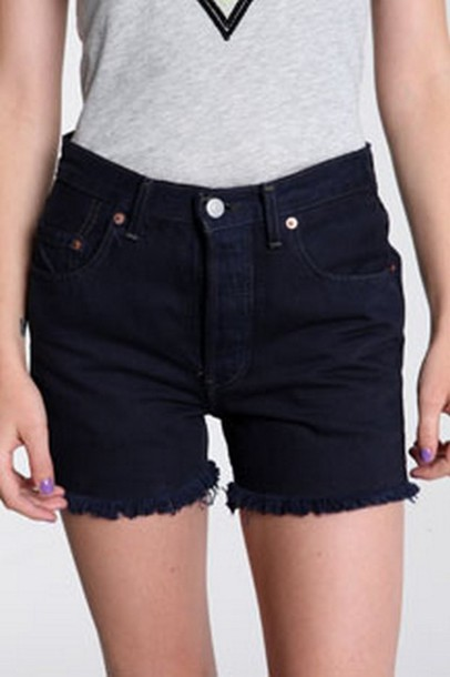 blue shorts shorts