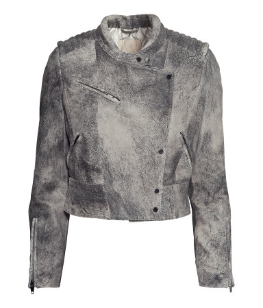 H&M Leather Biker Jacket $299