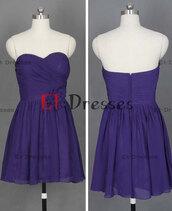 dress,mini chiffon pleated evening dress