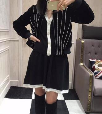 cardigan coat fashion women girl winter outfits jacket bling brand trendy soprtwear