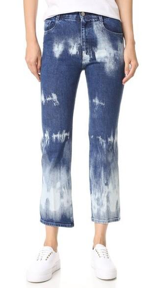 jeans tie dye