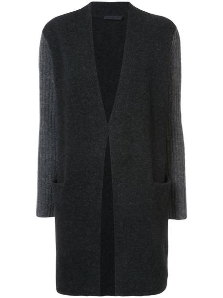Jenni Kayne cardigan cardigan women spandex wool grey sweater
