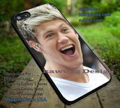 phone cover,cool niall horan laugh