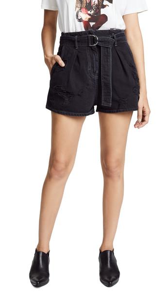 shorts black grey