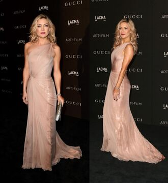 dress nude kate hudson prom dress gown